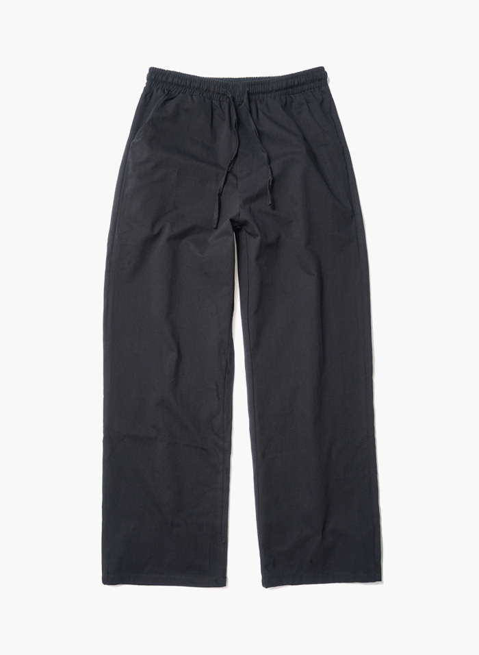 [주문폭주/당일발송]Semy Wide Easy Pants - Black